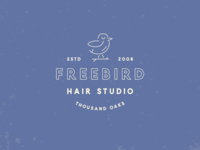 Freebird Hair Studio Branding
