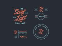 Surf Hostel Logo & Branding