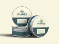 Hillside Botanicals Tin Packaging