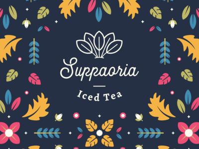 Iced Tea Logo and Branding
