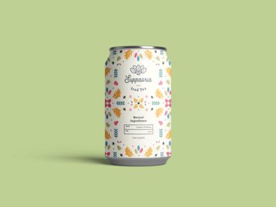Tea Can Packaging