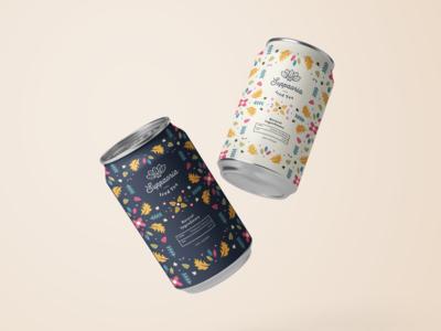 Tea Can Packaging & Branding