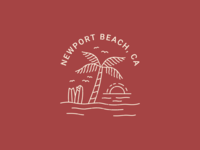 Newport Beach Illustration