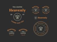 Heavenly Tea Leaves Branding #2