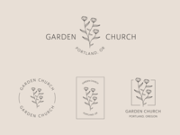 Garden Church Logo & Branding