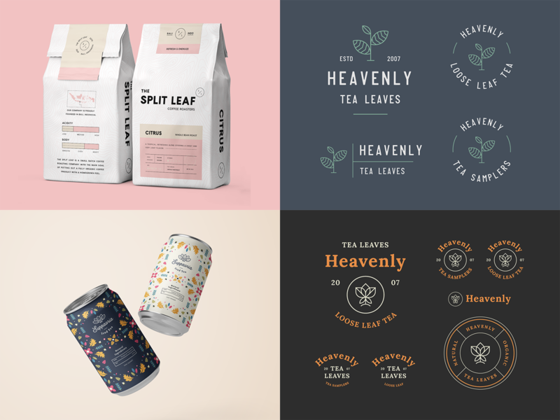 Top 4 Shots - First Half of 2019 monoline packaging mockup minimal modern best shots top 4 packaging design packaging logo design badge logo brand identity logo brand branding