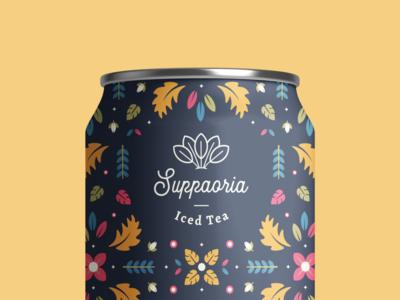Iced Tea Packaging Design