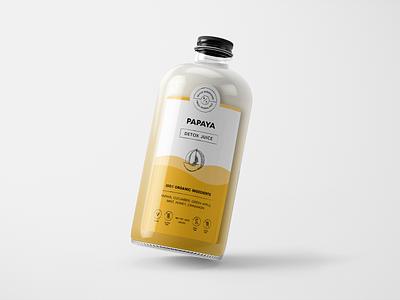 Juice Label Design juice bottle design packaging mockup packaging design modern monoline label design label glass bottle juice minimal logo design brand identity brand logo branding