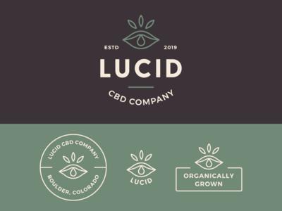 Lucid CBD Logo & Branding
