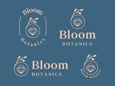 Bloom Botanics Logo & Branding