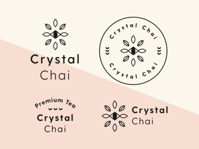 Crystal Chai Tea Branding