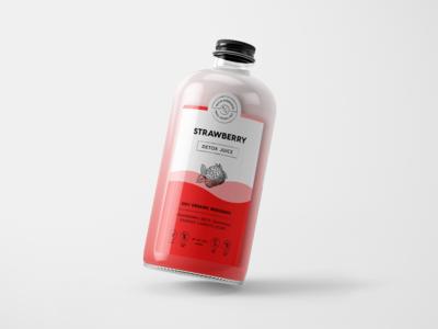 Revive Superfoods Juice Label
