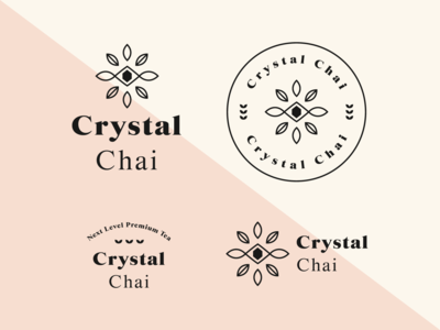 Crystal Chai Tea Final Branding