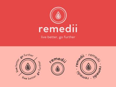 Remedii Logo & Branding