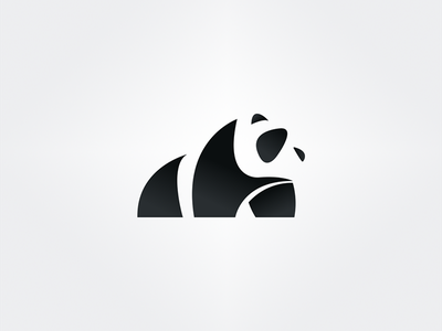 Panda Logo logo icon hot design dailylogochallenge branding brand panda