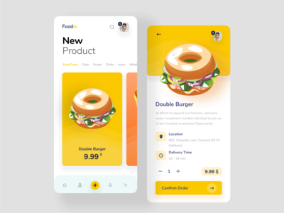 Foodie App android app ios app design food service delivery app app ui mobile ui food app ui food app food delivery service food delivery app food app design design clean creative uidesign app design foodies foodie dribbble best shot dribbble