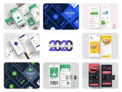 2020 Clean App Design 2020 design 2020 trend app clean app design clean ui minimal app minimal design minimal app design clean design clean app minimal dribbble dribbble 2020 app design