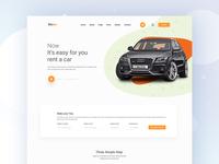 Car Rental Landing Page Ideas