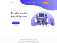 Ui expert website home page
