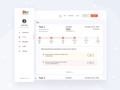 Buy sell properties portal Dashboard agency uidesign creative cart ecommerce uiuxdesign uiux clean web design task product design platform interface buy visual design dashboard design dashboard ui dashboard
