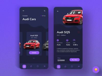 Car booking app (Details page) mobile ui ux ui app ui ux mobile app design mobile app ios app ios design dark ui dark app creative color clean car app booking app app ui application ui application app design