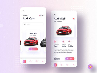 Car booking app (Details page) uidesign ux ui mobile apps mobile ui mobile app design mobile app ios app ios design creative color clean car app booking app app ui ux app ui application ui application app design