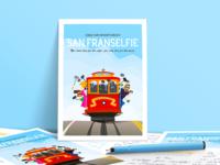 San Franselfie Postcard Presentation