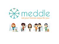 Meddle Brand Identity