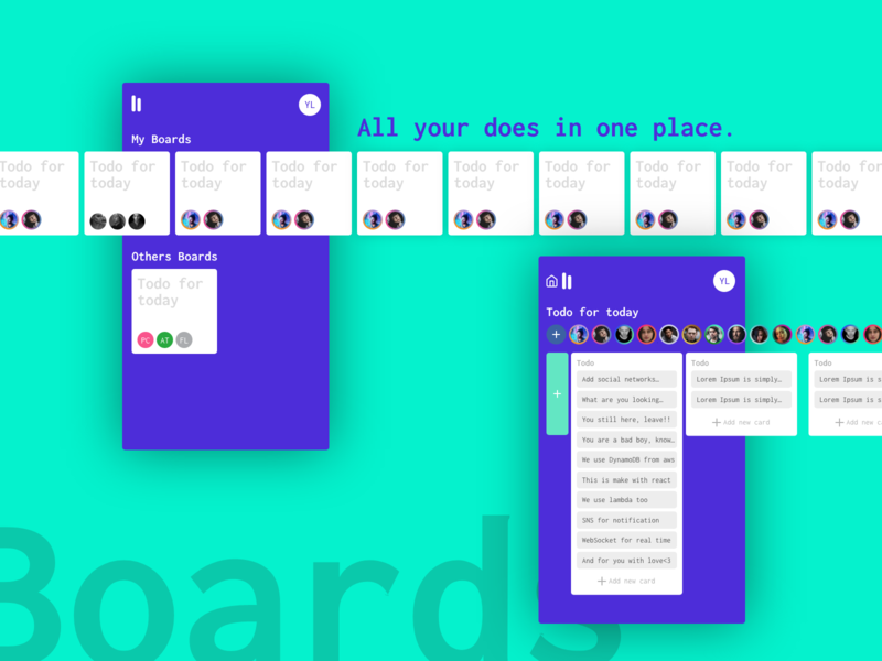 Boards - All your does in one place.