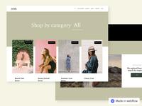 Moda – Ecommerce Website Template