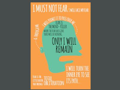 I Must Not Fear...