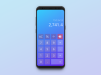 Daily UI: #004 - Calculator