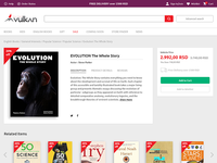 UI Challenge 002 - Bookstore Product Page interface e-commerce bookshop bookstore book typography product page design adobe xd weekly challenge weeklyui