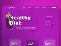 Concept of the Healthy Lifestyle website