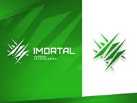 "Game logo ""imortal"""