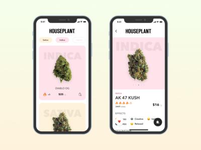 Houseplant  - eCommerce Mobile App