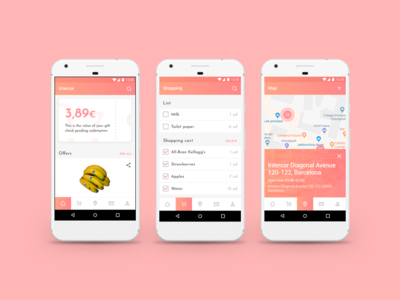 Intercor Supermarket App food app online market supermarket android app