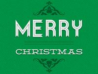 Merry Christmas Allgreen