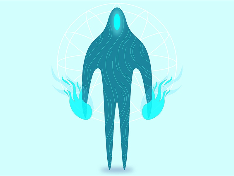 Alien Character Design #02 web design eye alien illustration character dota graphic 3d concept art ux ui