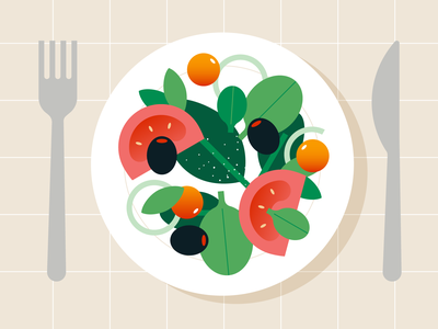 Animated video for a foodtech startup startup video foodtech food tech dinner plate food explainer explainer video