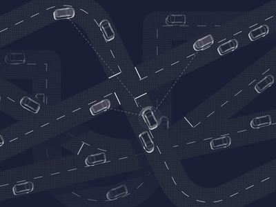 Innomovo p2p car sharing (promo video) gif tesla self driving car animation explainer explainer video