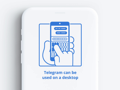 Telegram UI animation 02 (lottie, json)