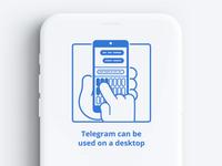 Telegram UI animation 02 (lottie, json)