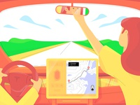 Tesla Model 3 Navigation Autopilot