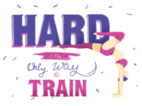 Hard Is The Only Way To Train