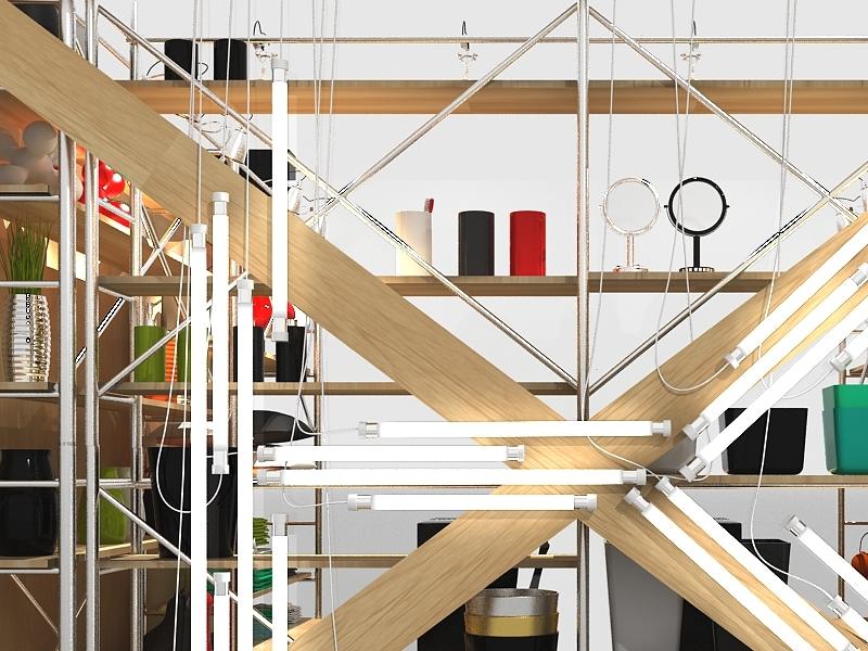 Kasa retail branding 3d industrial design architecture