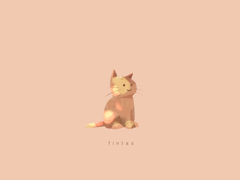 A Close Friend characterdesign artdirection cat design illustration