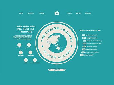 Design Journey portfolio