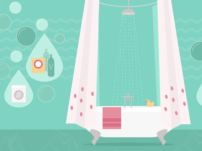 Shower Infographic