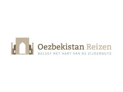 Logo Oezbekistan uzbekistan flat logo travel